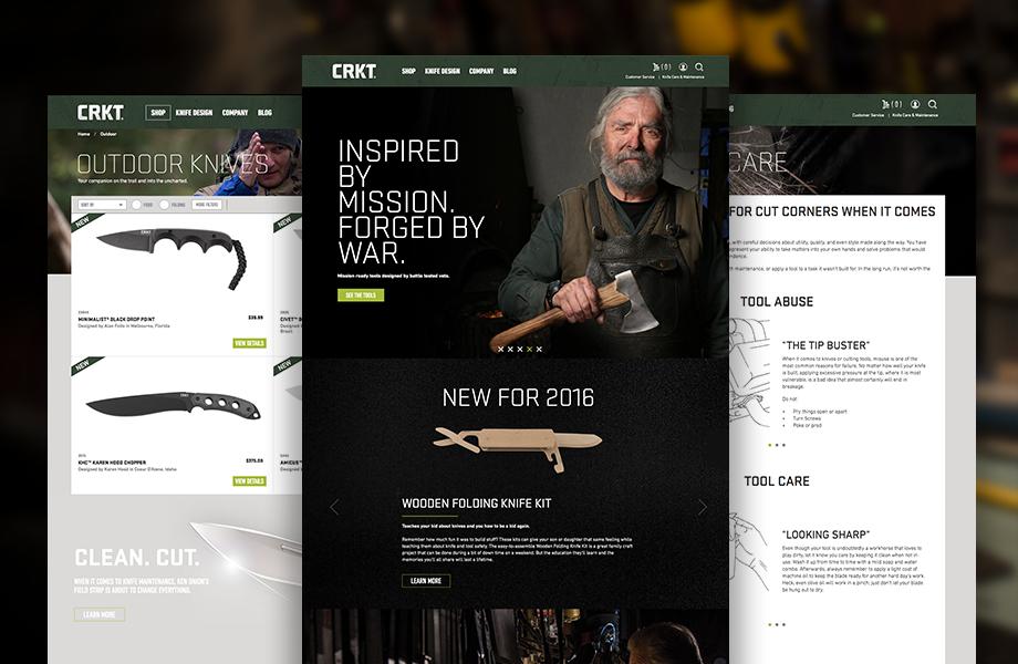 Sharp New Website, Same Trusted CRKT